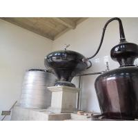 Cheap Double Pots Distiller with 6 Plates Copper Column / Two Pot Style Distillation Equipment for Sale for sale