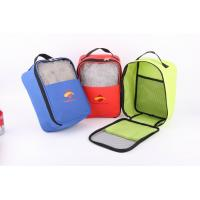 Cheap 600D Polyester Shoes Bag With Mesh In Front for sale