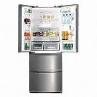 french door side by side refrigerator with certificate of. Black Bedroom Furniture Sets. Home Design Ideas