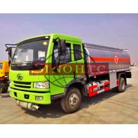 Cheap 6 - 10cbm Brand New Fuel Gasoline Truck 4x2 Driving Type Optional Refuel Device for sale