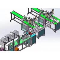 Cheap Full Automatic Disposable Mask Making Machine Stable Control Adjustable Speed for sale