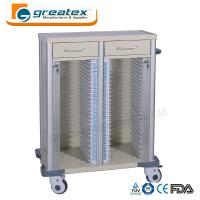 Buy cheap Medical Appliances Comfortable Case History Holder Trolley with Wheels and Drawers from wholesalers