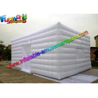 Cheap White Lightweight Commercial Air Inflatable Tent / Advertising Event Marquee for sale