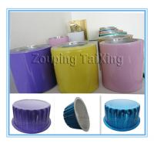 colored aluminium foil for airline container