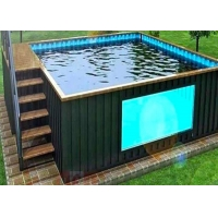 China Topshaw China Manufacturer Making Above Ground Container Pool Swimming Pool Outdoor on sale