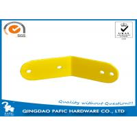 Buy cheap Yellow Powder Coated Steel Frame Metal Post Brackets For Monkey Bar from wholesalers