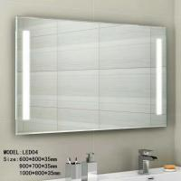 Cheap Audio Smart wall mounted lighted makeup mirror waterproof 3.5mm 5mm thickness for sale
