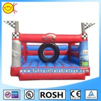 Cheap Small Cars Printing Commercial Inflatable Bouncers Water And Fire Proof for sale