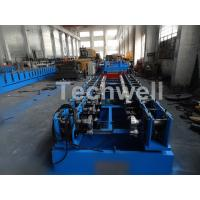 0.8-1.5mm Thickness Cold Roll Forming Machine For Making Traverse Machine With