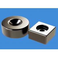 Cheap Customized Ring Magnets Block Magnets 20 mm Countersunk Hole Magnets for sale