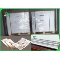 China Size Customized No Fluorescent Additives 60 70 Gsm Wood Pulp Offset Paper on sale