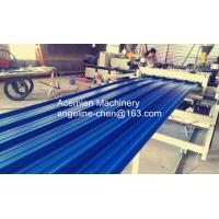Cheap durable high strength PVC color steel roof tile machine/production line for sale