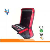 Cheap Red Fighting Cabinet Arcade Amusement Game Machine Simulator Metal Wood for sale