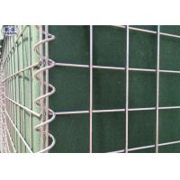 China Green Color Galvanized Military Hesco Barriers For Emergency Flood Control on sale