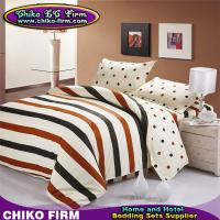 China CKMM026-CKMM030 100 Cotton Stripes and Dots Design Twin Full Queen King Size Duvet Cover Sets on sale