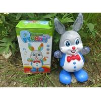 Cheap New hot sale toy, electric lighting toy, can sing and dance, walking swing rabbit, flashlight toy for sale