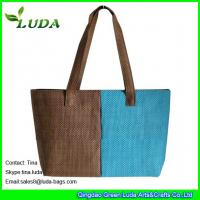 Cheap wholesale cheap paper straw beach bags on sale for sale