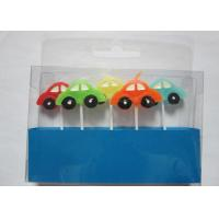 Cheap Stylish Race Car Shaped Birthday Candles Paraffin Art Candles Decorative For Boys for sale