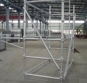 Cheap Mutifuction Lightweight Aluminium Cuplock System Scaffolding For Building Maintenance wholesale