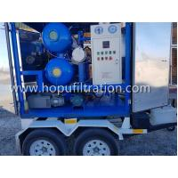 Cheap ZYD-M Mobile Trailer Transformer Oil,Movable Dielectric Oil Degassing, dehydration,Insulation Oil Purifier with Trolley for sale