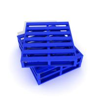 Cheap Powder Coating Metal Pallet Box with Shuttle System Metal Drive In Racking for sale