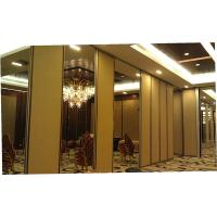 Cheap Wood Door Sliding Roller Removable Wall Partition / Acoustic Operable Partitions for sale