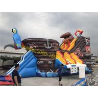 Cheap pirate water slide for pool for sale