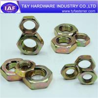 Cheap Hex Flange Nuts Grade 2/5/8 special nut for sale