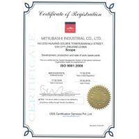 MITSUBASHI INDUSTRIAL CO., LTD. Certifications