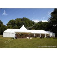 Cheap Fixable Temporary Alumminum Frame Luxury Wedding Tents With Lining Decorations wholesale