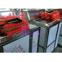 China Double Heads Semi Automatic Glass Bottle Cleaning Machine For Beverage Filling Line on sale