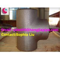 Cheap Butt weld reducing tee/ pipe fittings manufacturer in China for sale