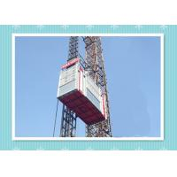 Cheap Personnel And Material Construction Elevator Hoist In Single And Twin Cage wholesale