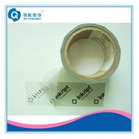 Cheap Single Side Security Tamper Evident Tape , Carton Clear Packing Tape for sale