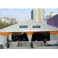 Cheap Hanging Ripples White Double Layer Textile Outdoor Event Tent With Aluminum Alloy Frame wholesale