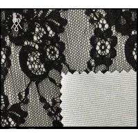 Buy cheap 100% Nylon lace composition cheap nylon fabric wholesales transparent textile cheap white fabric roll from wholesalers