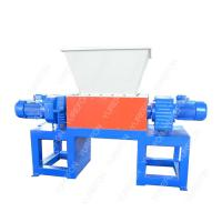 China Widely used, different material process, Waste Wood Pallet, Metal, Carboard Paper, Bucket Plastic Double Shaft Shredder on sale