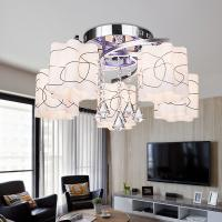 2016 modern creative led ceiling light living room bedroom for Glass ceiling bedroom