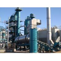 Quality Italia Ebico Burner Asphalt Batching Plant >75μM Fine Particle Recycled To Hot Hoister for sale