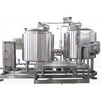 Cheap Semi Auto Control 7BBL Pub Brewing Systems SUS304 Steam Heating For Pub / Restaurant for sale