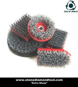 China Silicon-Carbide Stone Polishing Abrasive Brushes on sale