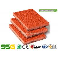 Buy cheap SSGsportsurface Modified PU Mixed EPDM Granules Athletics Running Track Surfaces from wholesalers