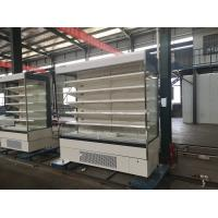 Cheap Upright Beverage Open Air Refrigerated Display Cases Commercial Refrigeration Equipment for sale