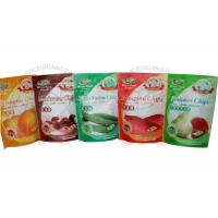 Zipper Resealable Stand Up PouchesFor Fruit Chips And Cooked Food