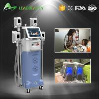 Cheap Fat freezing coolshape cryolipolysis cold body sculpting machine with 4handles for sale