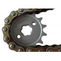 Cheap Suzuki Motorcycle Sprockets And Chains 1045 1023 Steel Material , Not Easily Broken for sale