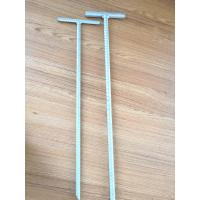 Quality 1m - 3m Earth Ground Anchor Spike For Tent / Garden HDG Surface Q235 Material wholesale