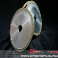 Buy cheap resin bond grinding disc, 1A1 resin grinding wheel 100x6x16x5 D126 from wholesalers