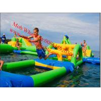 Cheap PVC Tarpaulin Lake Inflatable Water Park for Adults Inflatable Aqua Park Games for sale