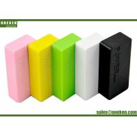 Cheap 5200Mah Portable Cell Phone Battery Charger , Mobile Phone Power Bank Fast Charging wholesale